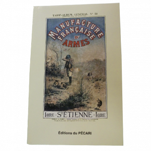 Réédition Pécari catalogue Manufrance 1900