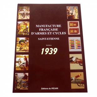 Réédition Pécari catalogue Manufrance 1939