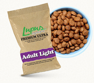 Croquettes naturelles super premium light 14 kg